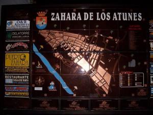 Plan von Zahara de los Atunes