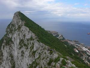 Ausblick von den Felsen von Gibraltar