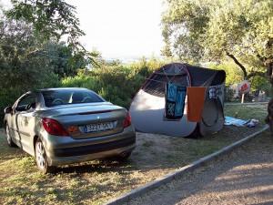 Camping El Sur Parzelle