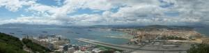 Der Flughafen von Gibraltar